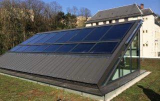 IME Saint Louis du Mont - Panneaux solaires thermiques